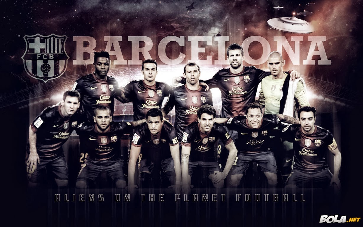 Wallpaper Klub Barcelona Terbaru 2014