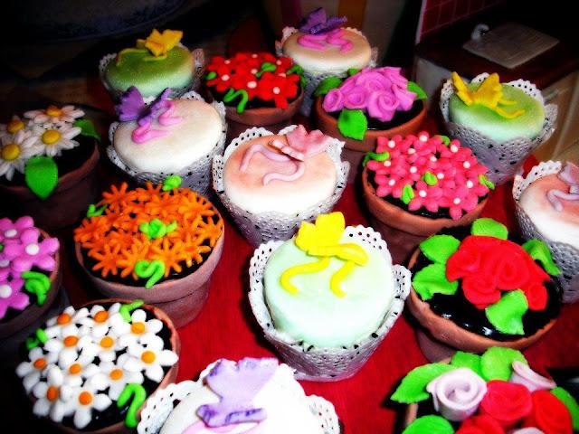 flower cupcakes dolci peccati
