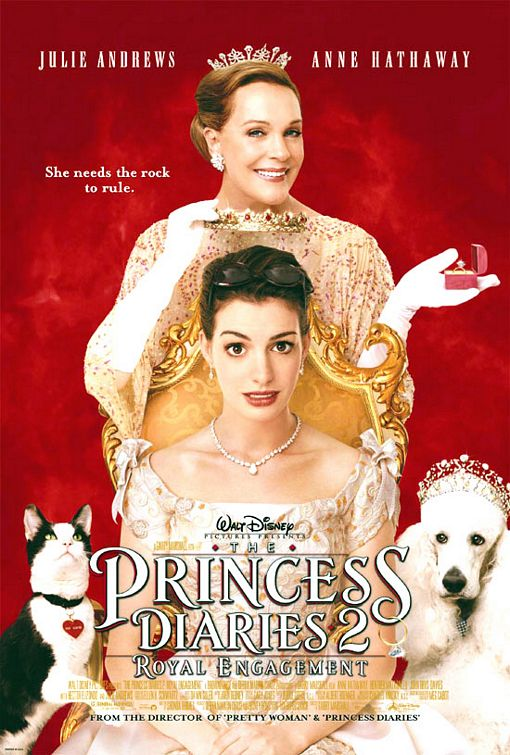 Princess Diaries 2 movie poster