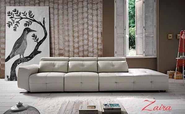 sof zaira modular decorado en capiton sencillo