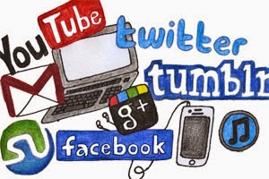 Picture of the technology students have access to; you tube, twitter, I Pads, Smart Phones,etc