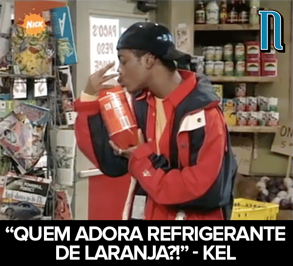 Quem adora refrigerante de laranja?   - Kel