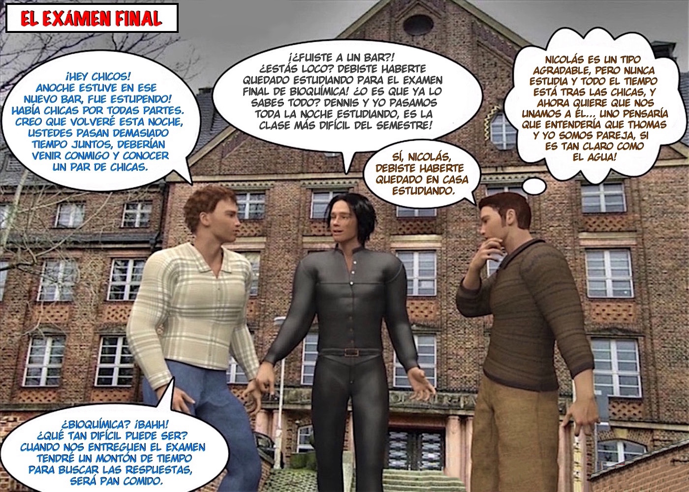 COMIC- 3D GAY WORLD DIGITAL