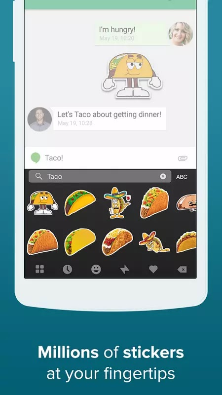Download Fleksy + GIF Keyboard v7.4.0 Mod Apk+All Themes Unlocked Apk For Android