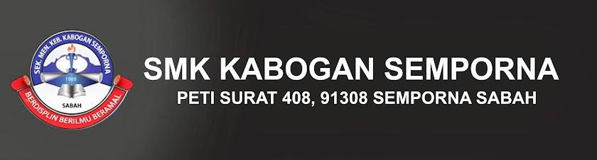 SMK KABOGAN, SEMPORNA SABAH