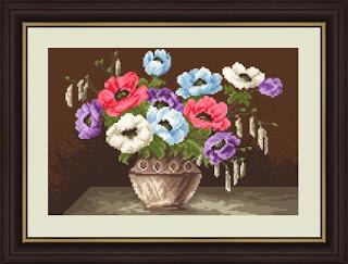 haft kwiaty
