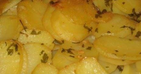 patatas panaderas al horno