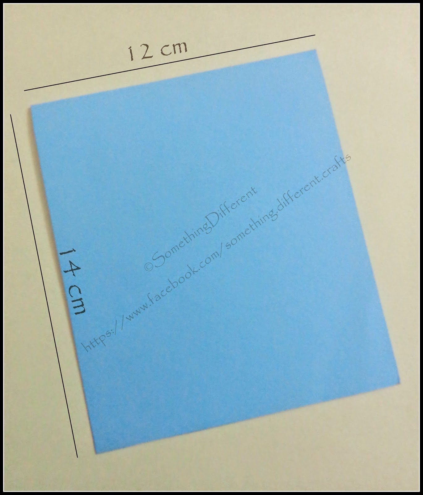 Something different valentines day special love is in the step 1 take a rectangular sheet of sky blue drawing paper having dimensions 28 cm x 12 cm fold it in half to have a card of size 14 cm x 12 cm kristyandbryce Images