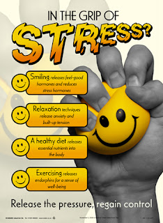 Workplace stress posters