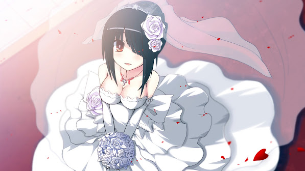 Wedding Dress Anime Girl 3m