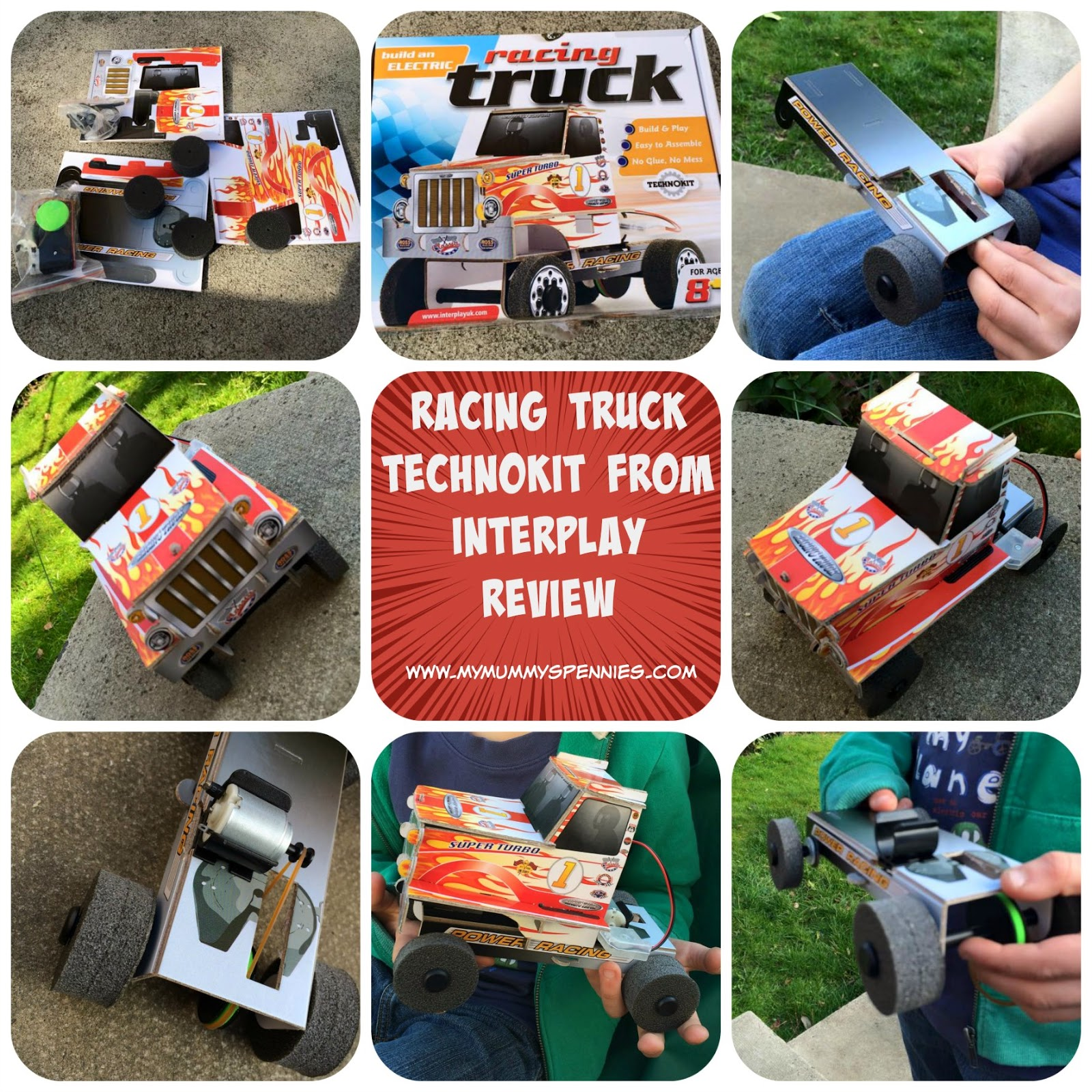 Racing Truck Technokit from Interplay - review