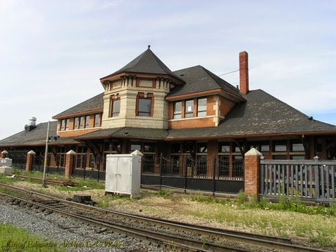 Strathcona Canadian Pacific Railway Station, Edmonton