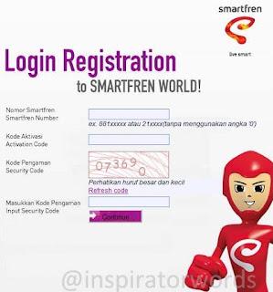 SmartFren Registration