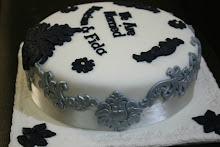 Fondant Wedding Cake