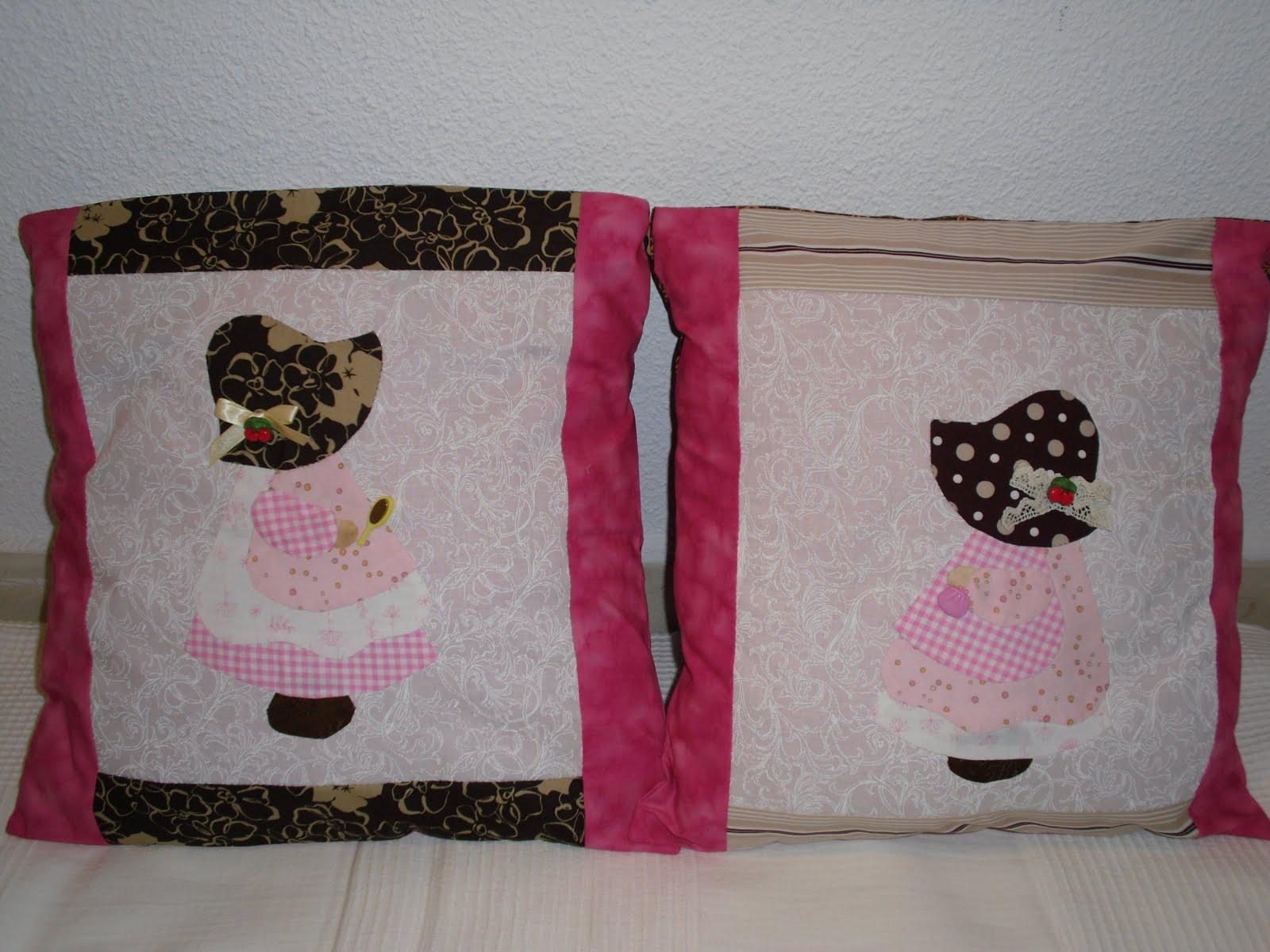 Jana patchwork y punto de cruz cojines para ni os - Cojines para bebes ...