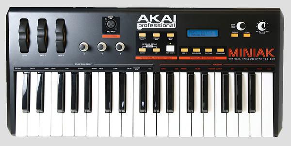 Akai MINIAK | Виртуально-аналоговый синтезатор