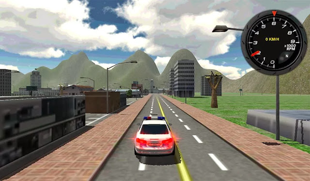 Police Car Driver 3D Android Apk Oyun resimi 6