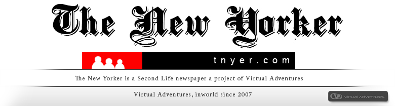 The New Yorker SL Newspaper Nederpoort Virtual City Second Life Virtual Adventures
