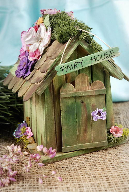 Our Green House Blog Diy Fairy Homes