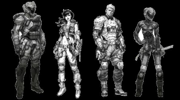 Last Saga 32mm skirmish game kickstarter interview human faction