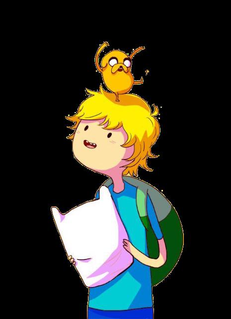 Desenho Finn e Jake Hora de Aventura colorido