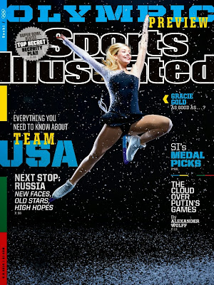 Gracie Gold Photos from Sports Illustrated Magazine Cover February 2014 HQ Scans