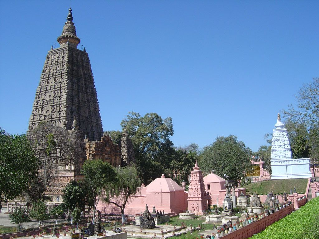 Wallpaper Bodh Gaya