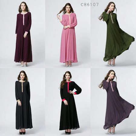 Restock jubah Kegemaran Ramai sangat Selesa Digayakan Dengan Rekaan Yang Menarik HAti