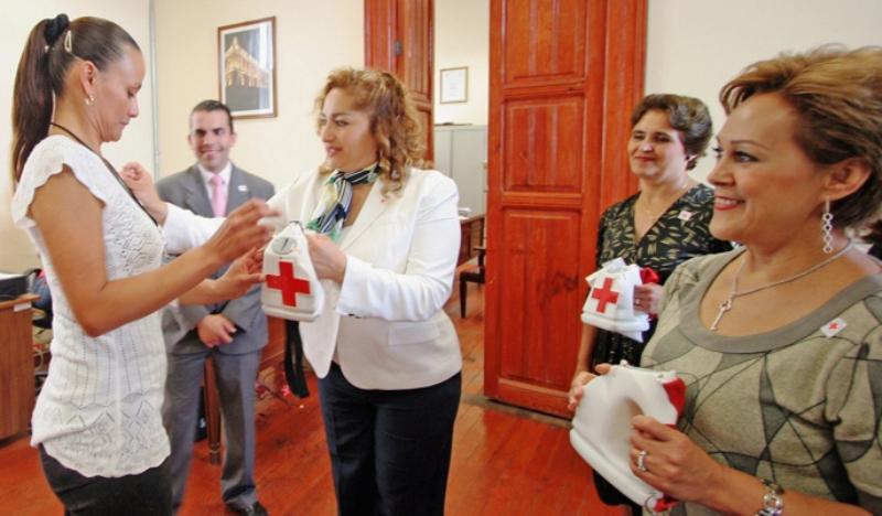 Colecta de la cruz roja en el poder judicial tribunal for Juzgado de dolores