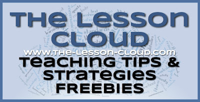 www.the-lesson-cloud.com Teaching Tips Freebies