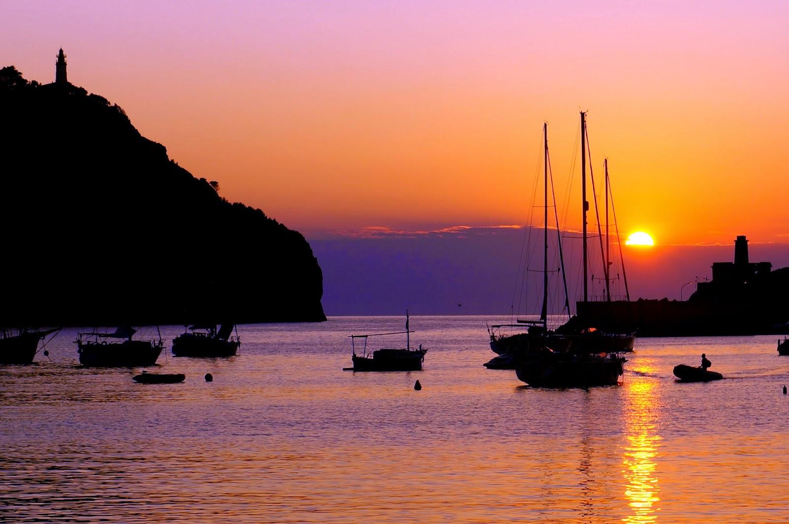 Puesta de sol en Port de Soller