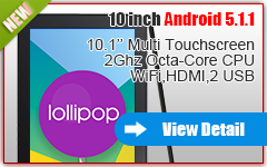 10'' ANDROID 5.1 TABLET