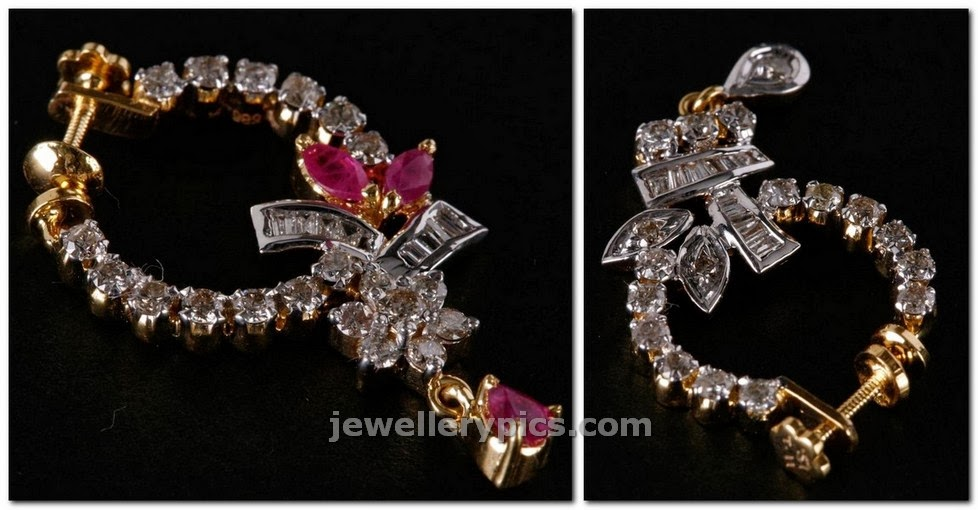 pc jewellers diamond nose ring design collection