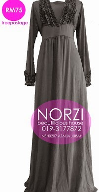 (LESS 20% UNTIL AIDILFITRI) NBH0207 AZALIA JUBAH DRESS