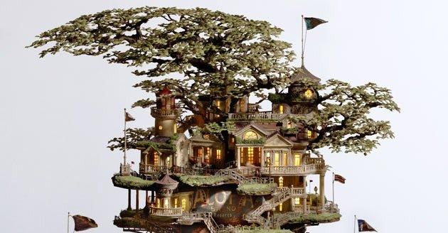 monkmenagerie: Takanori Aiba...bonsai scupltures