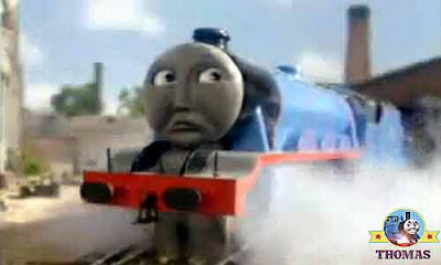 Island of Sodor news grunted Gordon the train about the childrens animal touring circus performance