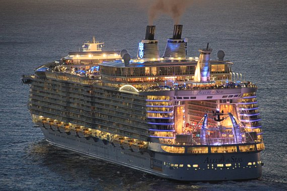 ALLURE OF THE SEAS, EUROPE