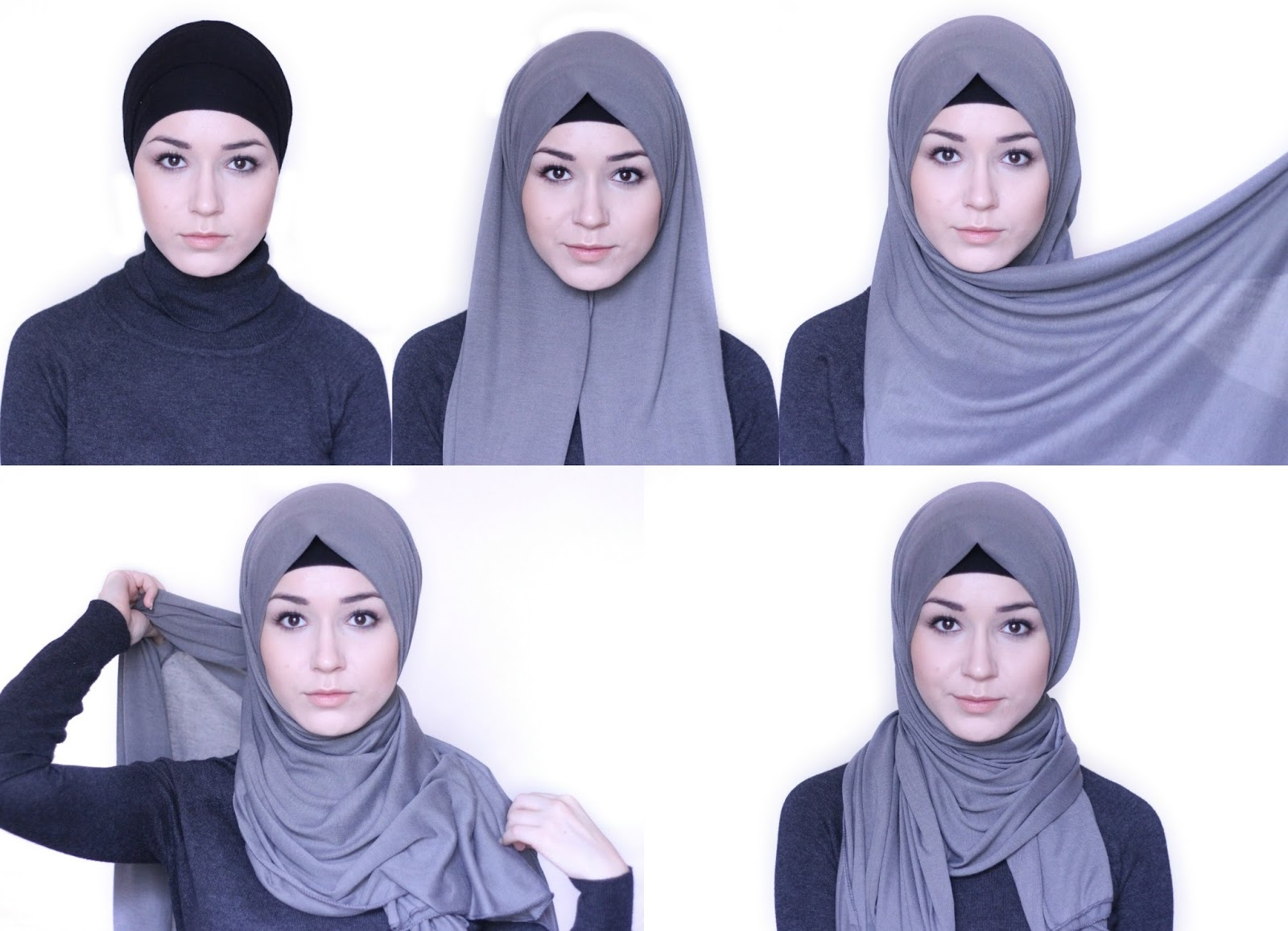 Tutorial 4 Easy To Wear Hijab Styles For Everyday Look Lilpink A Hijabi 39 S Cup Of Tea