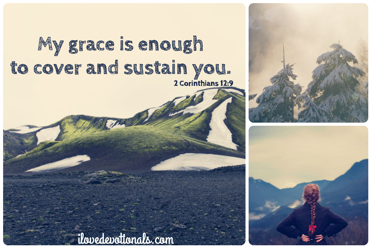 My grace is sufficient for you
