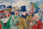 James Ensor (51) - La intriga (1911)