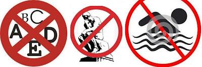 Exemplos de proibições