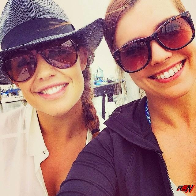 Kaitlyn Goes Sailing with Her Sister.