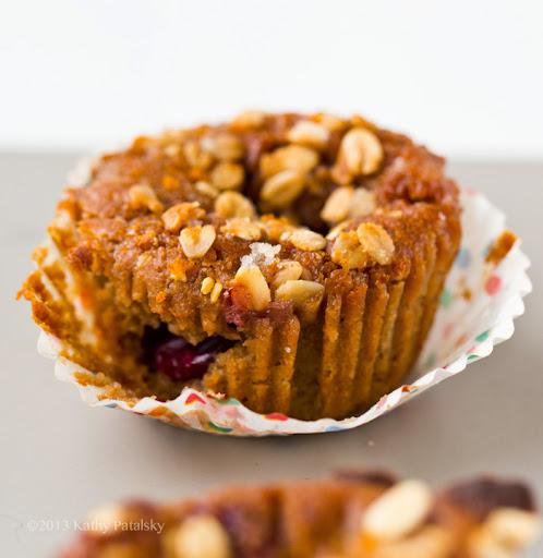 Sugar Plum Citrus-Cranberry Sparkle Muffins (GF, vegan)