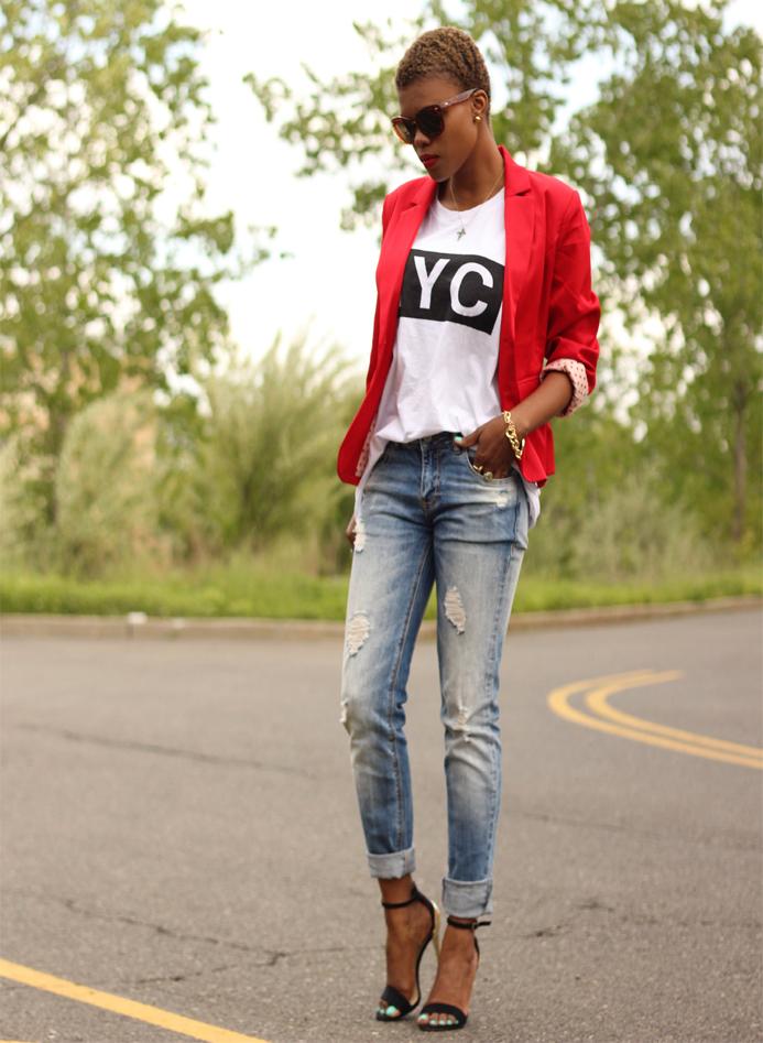 Boyfriend Jeans?   Dadou~Chic