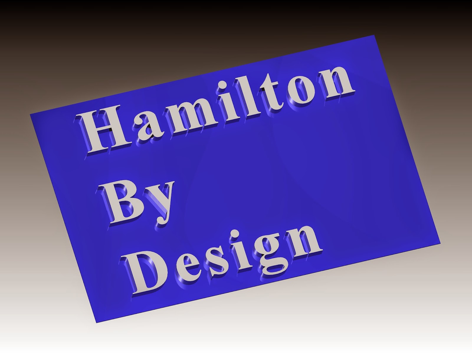 Drafting Hamilton By Design