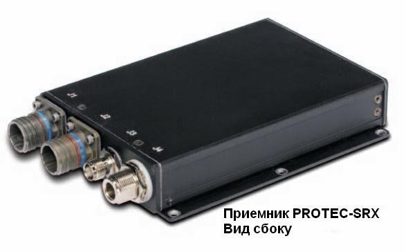 Приемник PROTEC-SRX. Вид сбоку