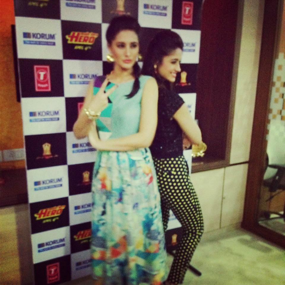 Varun, Ileana and Nargis at KorumMall to promote Main Tera hero