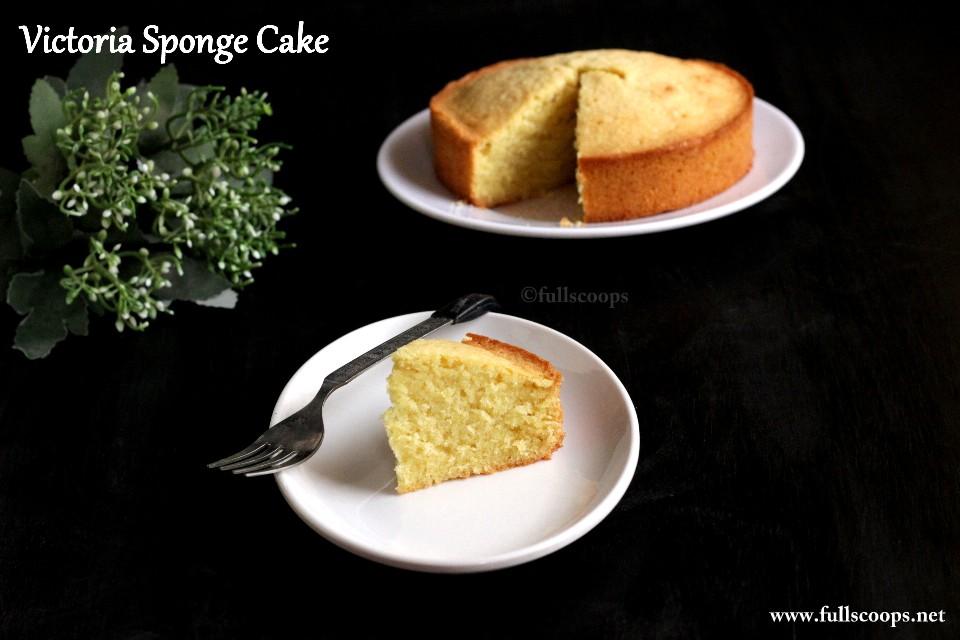 Light Victoria Sponge Cake Recipe