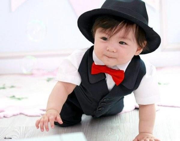 Costume bébé garçon très mignon
