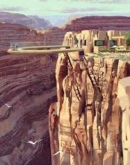 Cầu Đường Bộ Trên Không - Grand Canyon Skywalk